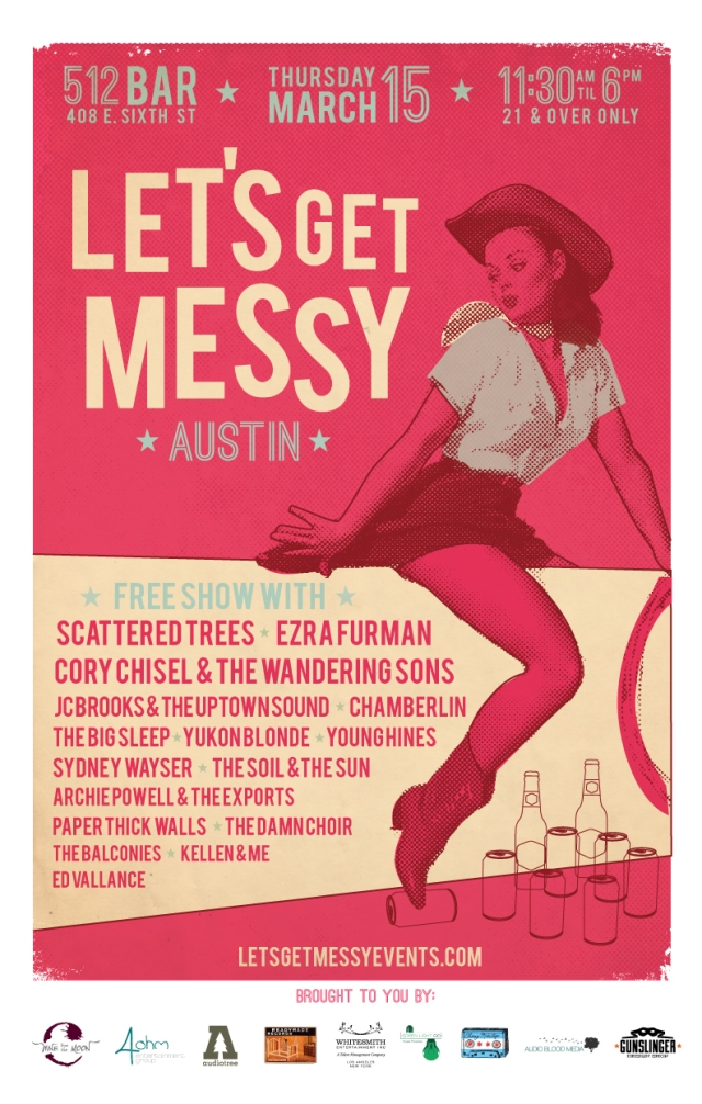 Let's Get Messy Day Party Austin March 15 2012